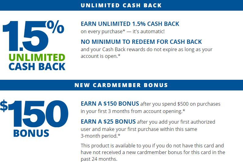 Chase FreedomUnlimited Rewards - bonus available