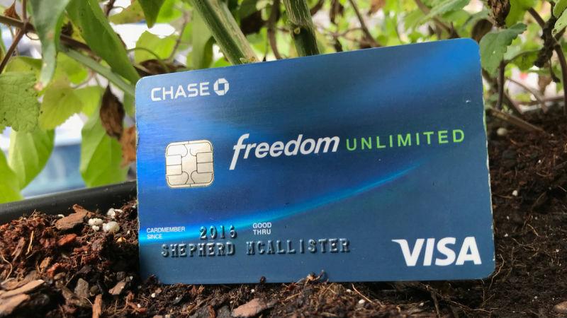 Chase FreedomUnlimited