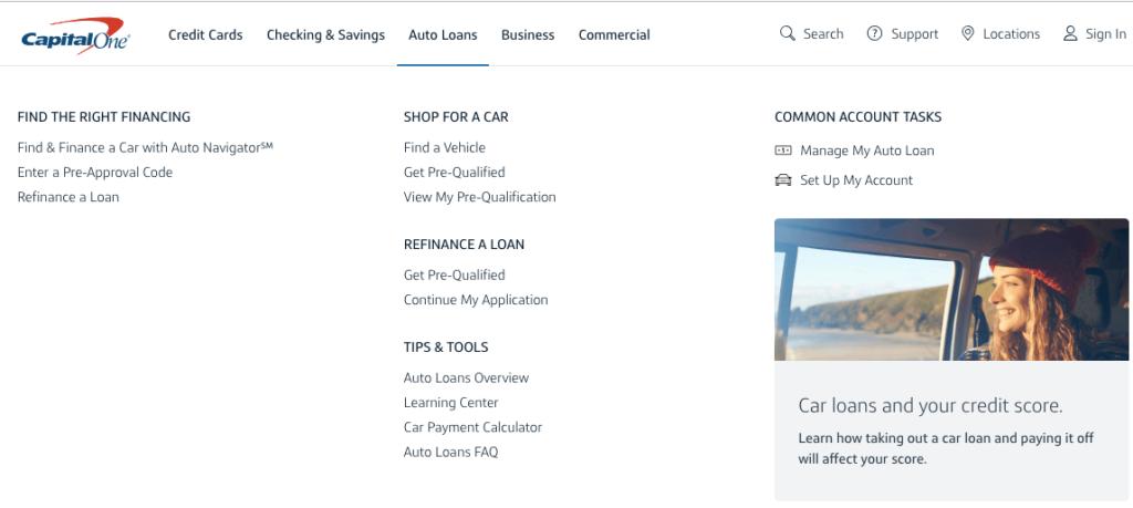 Capital One Auto Loan