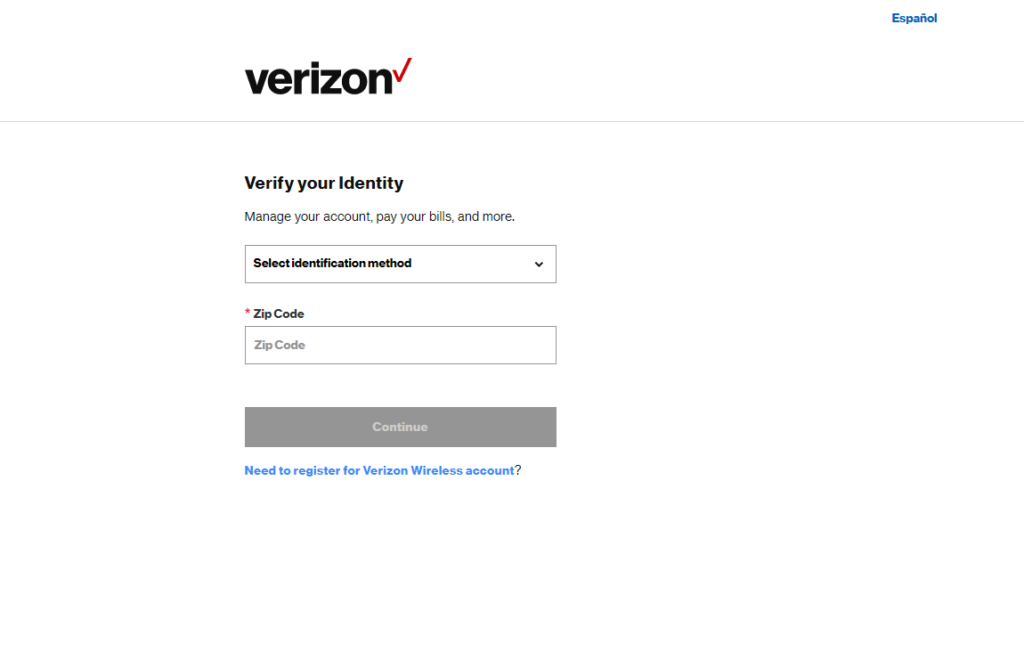 verizon register