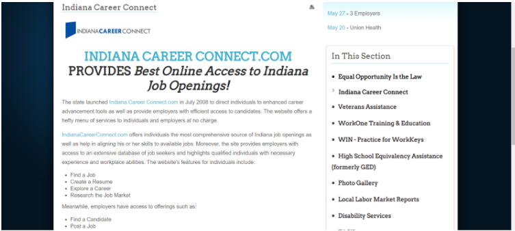 indianacareer-connect